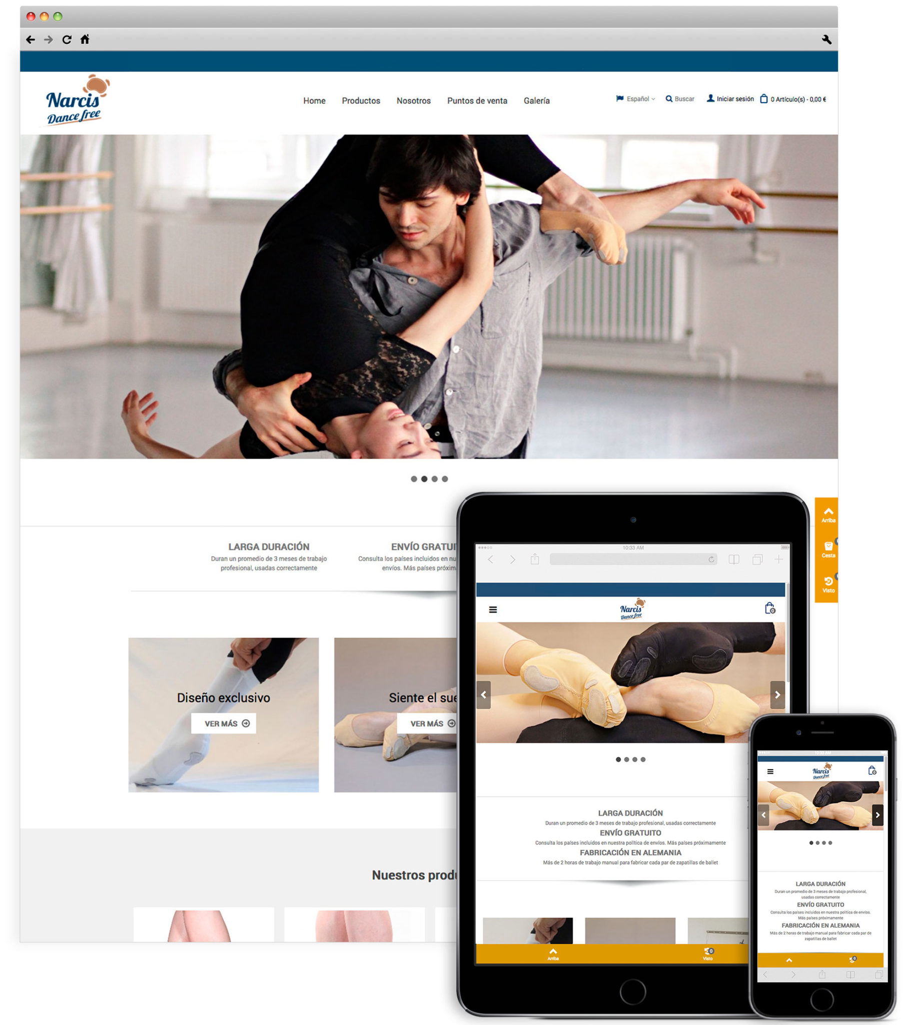 Narcis dance free responsive