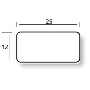 Etiqueta 25 x 12 rollos