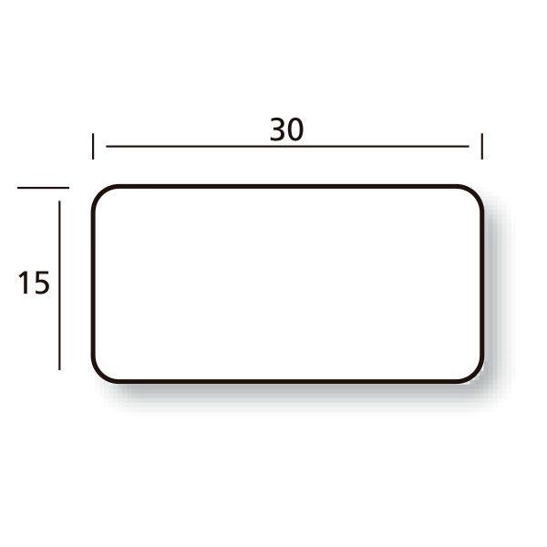 Etiqueta 30x15